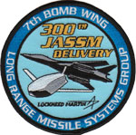 7th Bomb Wing / 300th JASSM Delivery