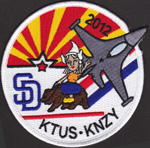 148th FS / San Diego 2012 展開記念