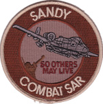A-10 SANDY Combat Search And Rescue (Desert)