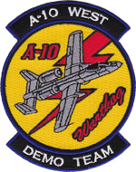 A-10 WEST Demo Team
