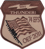 74th EFS Enduring Freedom 2011