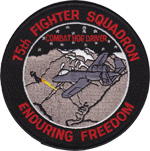 75th FS Enduring Freedom