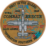 103rd FS Southern Watch