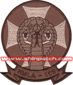 HMLA-169 SQ PATCH (Desert)