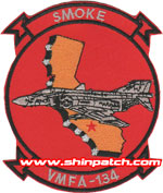 VMFA-134 SQ PATCH (F-4)