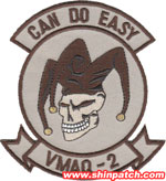 VMAQ-2 SQ PATCH (Desert)