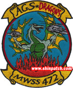MWSS-472 SQ PATCH
