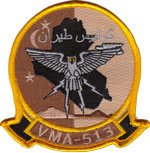 VMA-513 Desert patch