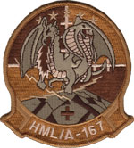 HML/A-167 SQ PATCH (Desert)