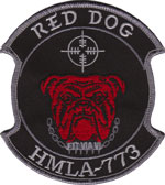 HMLA-773 SQ PATCH