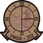 VMGR-252 SQ PATCH (Desert)