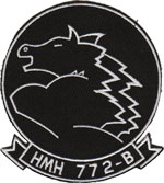 HMH-772 Det.B SQ PATCH