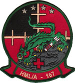 HMLA-167 SQ PATCH