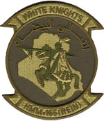 HMM-165 (REIN) SQ PATCH / Iraq
