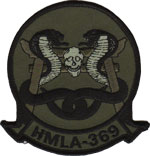 HMLA-369 SQ PATCH (OD)