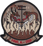 HMLA-269 SQ PATCH (Desert)