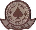 HMLA-267 SQ PATCH (Desert)