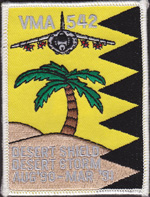 VMA-542 Desert SHIELD/STORM 1990-91