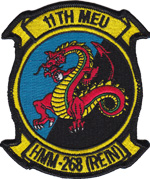 HMM-268 (REIN) / 11th MEU SQ PATCH