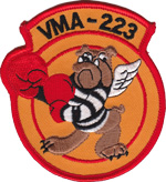 VMA-223 SQ PATCH