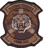 HMM-262 SQ PATCH (Desert)