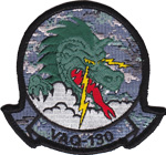 VAQ-130 SQ PATCH (NWU用)