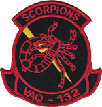 VAQ-132 SQ PATCH