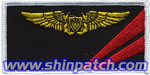 VF-154 NFO Name Tag (Gold)