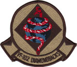 VF-102 SQ PATCH (Desert)