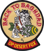F-14 Operation Desert Fox 1998
