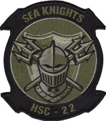 HSC-22 SQ PATCH (OD)